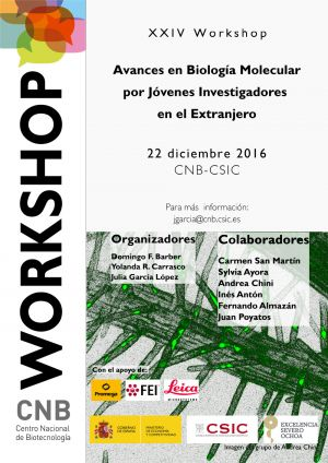 XXIV Workshop ADVANCES IN MOLECULAR BIOLOGY BY YOUNG RESEARCHERS ABROAD