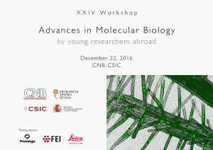 Programme: XXIV Workshop Advances in Molecular Biology by Young Researchers Abroad (December 22, 2016)