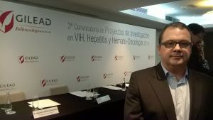 Pablo Gastaminza, collaborator on a project awarded by Gilead